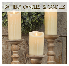 Battery Candles & Candles