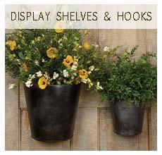 Shelves/Hooks/Racks