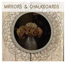 Mirrors/Chalkboards