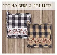 Pot Holders & Pot Mitts