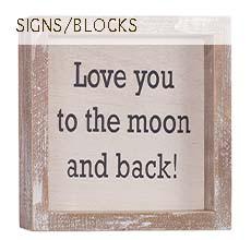 Signs/Blocks