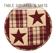 Table Squares & Mats