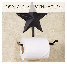 Towel/Toilet Paper Holders