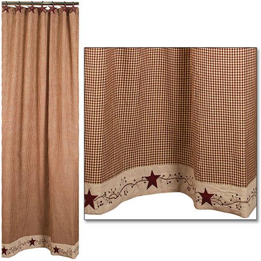 Stars 'N' Berries Shower Curtain Item Number: 88456
